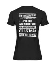 Don't mess with me grandma Premium Fit Ladies Tee thumbnail