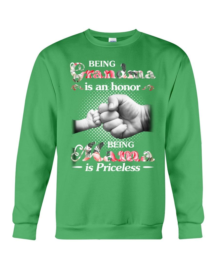 Being grandma is an honor Crewneck Sweatshirt