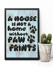Not A Home Without Paw Prints 16x24 Poster lifestyle-poster-8