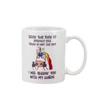 Back The Fck Up Unicorn Mug thumbnail