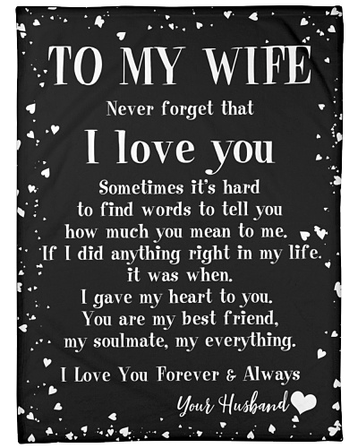 TO MY WIFE FROM HUSBAND SHARE