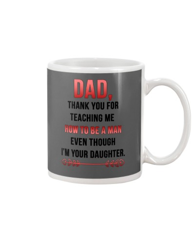 Dad Thank You For Teaching Me