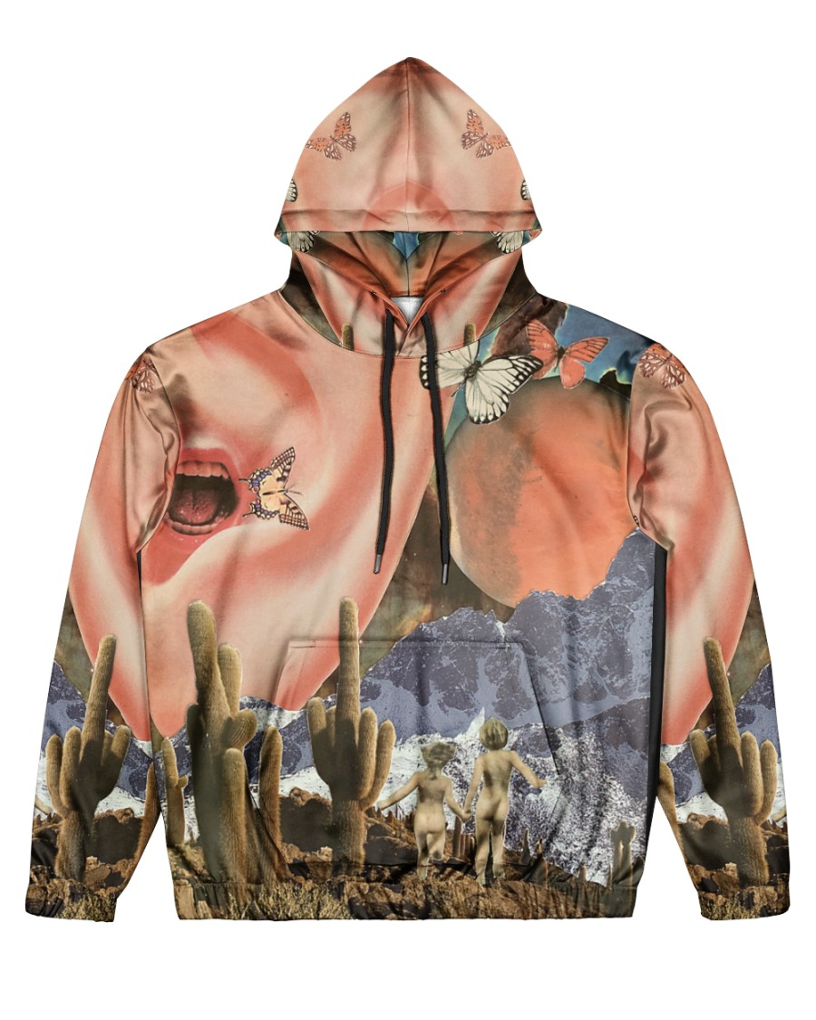 Family Vacation Men's All Over Print Hoodie