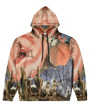 Family Vacation Men's All Over Print Hoodie front