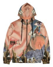 Family Vacation Men's All Over Print Full Zip Hoodie thumbnail