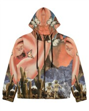 Family Vacation Women's All Over Print Full Zip Hoodie thumbnail