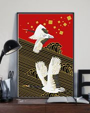 Original Japanese Crane Poster 24x36 Poster lifestyle-poster-2