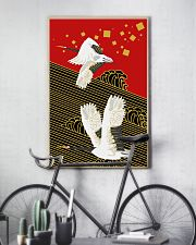 Original Japanese Crane Poster 24x36 Poster lifestyle-poster-7