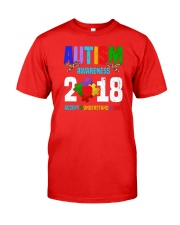 AUTISM AWARENESS  LOVE 2018 Classic T-Shirt front