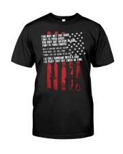 Guns Classic T-Shirt front