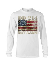 DD 214 NAVY ALUMNI Long Sleeve Tee thumbnail