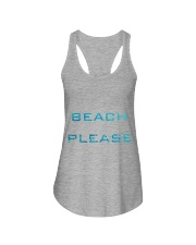 Summer tshirt Ladies Flowy Tank front