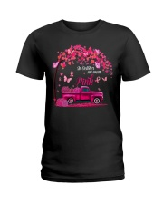 October Pink  T Shirt Ladies T-Shirt front