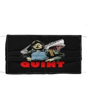Jaws Quint Cloth face mask front