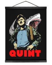 Jaws Quint 16x20 Black Hanging Canvas thumbnail
