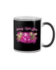 Nobody Fights Alone Color Changing Mug thumbnail