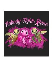 Nobody Fights Alone Square Coaster thumbnail