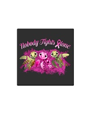 Nobody Fights Alone Square Magnet thumbnail