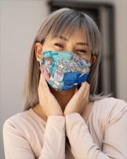 The Golden Girl Fabric Cloth face mask aos-face-mask-lifestyle-17