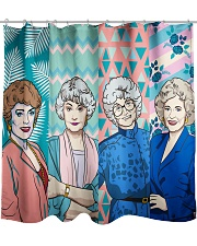 The Golden Girl Fabric Shower Curtain thumbnail