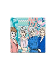 The Golden Girl Fabric Square Magnet thumbnail