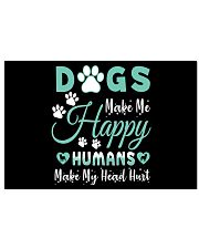 Dogs Make Me Happy 17x11 Poster thumbnail