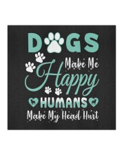 Dogs Make Me Happy Cloth face mask aos-face-mask-coverlet-lifestyle-front-02