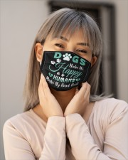 Dogs Make Me Happy Cloth face mask aos-face-mask-lifestyle-17