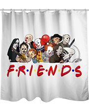 Friends Funny Shower Curtain thumbnail