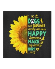 Dogs And Sunflower Make Me Happy Cloth face mask aos-face-mask-coverlet-lifestyle-front-02