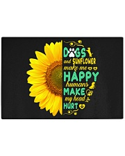 Dogs And Sunflower Make Me Happy Rectangle Cutting Board thumbnail