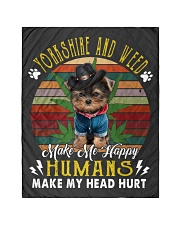 """Yorkshire make me happy Quilt 40""""x50"""" - Baby thumbnail"""