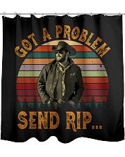 Got A Problem Send Rip Shower Curtain tile