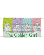 The Golden Girl Moment Cloth face mask front