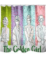 The Golden Girl Moment Shower Curtain thumbnail