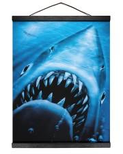 the shark 16x20 Black Hanging Canvas thumbnail