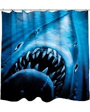the shark Shower Curtain thumbnail