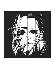 Face Halloween Square Coaster thumbnail
