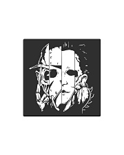 Face Halloween Square Magnet thumbnail