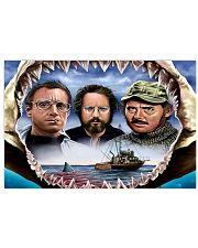 The Jaws Movie Horizontal Poster tile