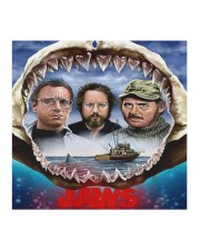 The Jaws Movie Cloth face mask aos-face-mask-coverlet-lifestyle-front-02