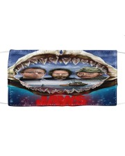 The Jaws Movie Cloth face mask front