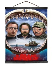 The Jaws Movie Hanging Canvas tile
