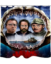 The Jaws Movie Shower Curtain tile