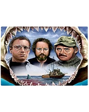 The Jaws Movie Rectangle Cutting Board tile