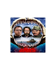 The Jaws Movie Square Magnet tile