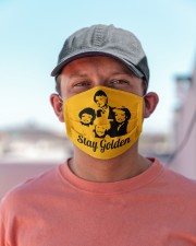 Stay Golden Cloth face mask aos-face-mask-lifestyle-06