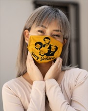 Stay Golden Cloth face mask aos-face-mask-lifestyle-17