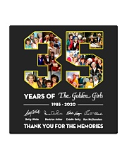 35 Years Of The Golden Girl Square Coaster thumbnail