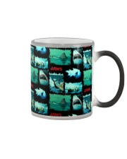 Jaws Fabric Color Changing Mug tile